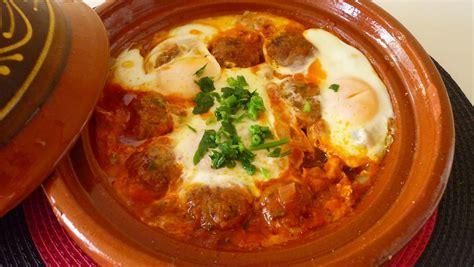 cuisine marocaine recette cuisine marocaine 1 recette de tajine kefta aux oeufs