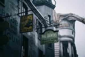 harry potter rain dragon diagon alley universal studios ...