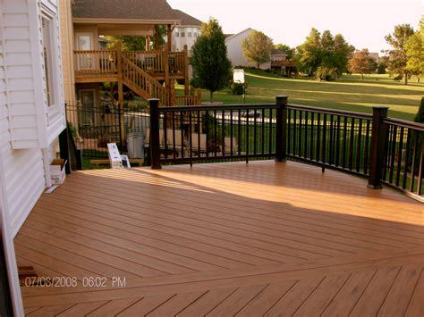 mike jansen custom cedar decks composite cedar deck