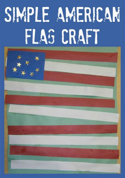 simple american flag craft 330 | flag collage 2