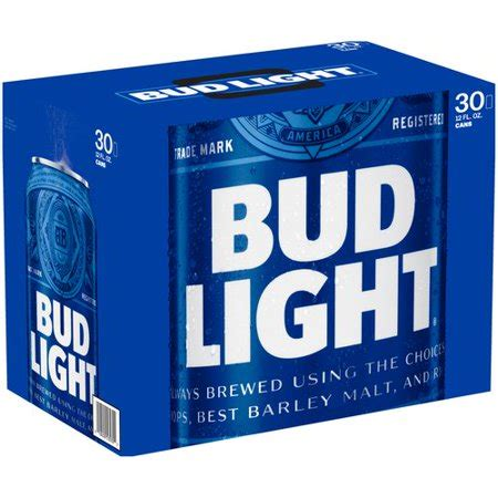 bud light 30 pack bud light 30 pack 12 fl oz walmart