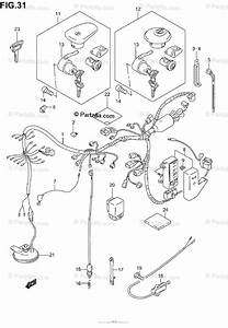 Suzuki Motorcycle 2002 Oem Parts Diagram For Wiring