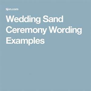 best 20 wedding sand ceremony ideas on pinterest With wedding sand ceremony script
