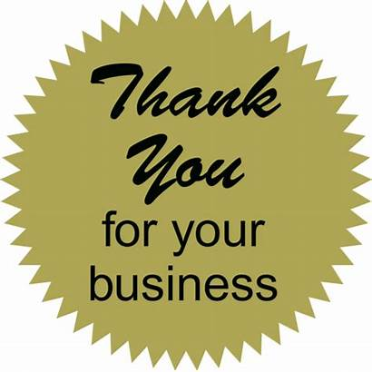Thank Business Thankyou Thanking Card Customers Thought