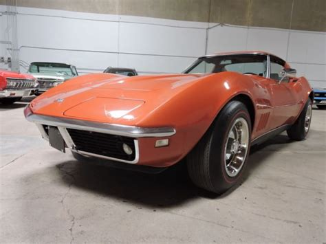 1968 Corvette Ttop 327 (350hp) 4 Speed