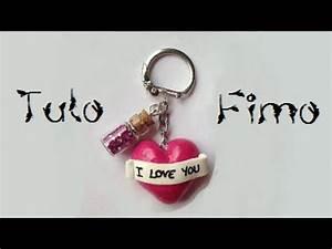 Tuto Pate Fimo : tuto fimo porte cl s coeur romantique youtube ~ Dode.kayakingforconservation.com Idées de Décoration