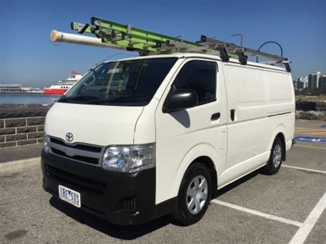 toyota hiace lwb kdhr  upgrade car sales vic