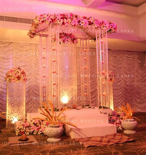 pretty poruwa designer wedding sri lanka home poruwa