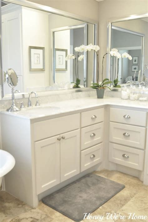 Master Bathroom Mirrors by Honey We Re Home Master Bath Sherwin Williams Anew Gray