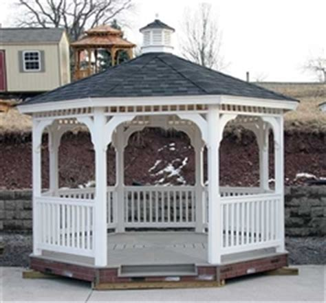 vinyl gazebo kits 12x12 vinyl gazebo kit diy gazebo kits at alan s factory 3277