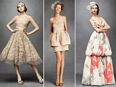 Stunning Vintage-inspired Bridesmaids' Dresses By Bhldn
