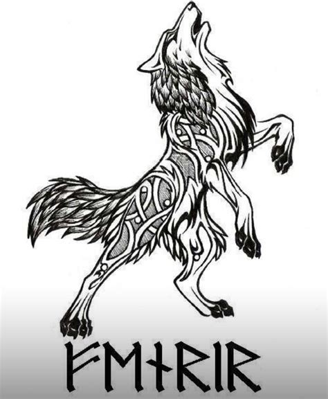 fenrir tattoo pinterest tatouage viking tatouage