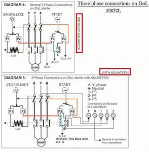 Wiring Diagram Dol Starter Single Phase
