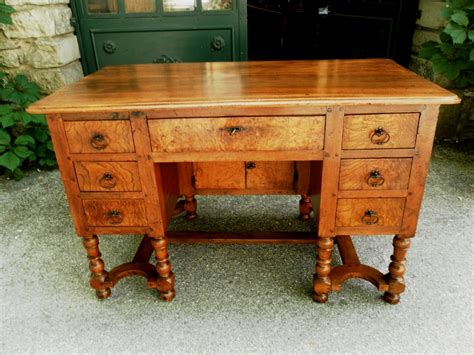 provence 18th mazarin bureau desk in walnut for sale