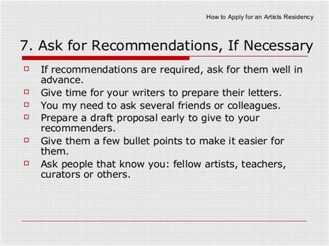 apply  artist residencies