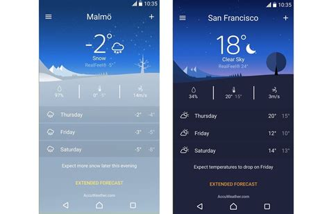 free weather app for android sony weather app ready for exclusive to xperia
