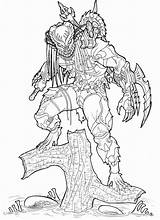 Predator Coloring Pages Alien Printable Hunter Drawings Vs Boys Pic Swamp Animal Sketch Designlooter Avp2 Ever Mask Adult 5kb 1239px sketch template
