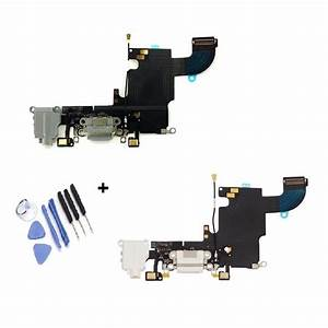 Iphone 6s Charging Usb Dock Charger Port Microphone Flex Cable
