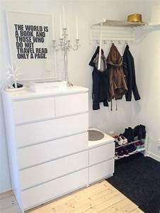Schrank Für Flur : flur einrichten ideen und vorschl ge flur garderobe pinterest bedroom ikea und ikea ~ Orissabook.com Haus und Dekorationen