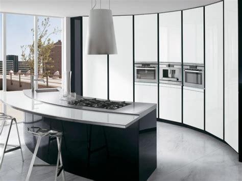 Elegant Black And White Kitchens