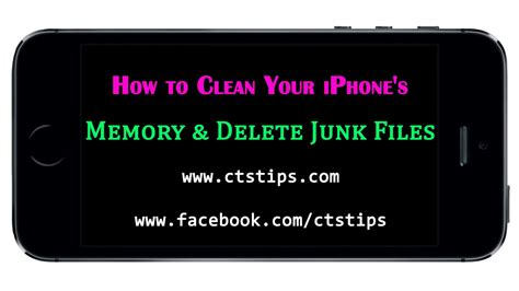 how to clean iphone storage how to clean your iphone s memory delete junk files 3535