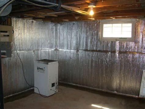 ThermalDry® Basement Radiant Wall Barrier in Louisville