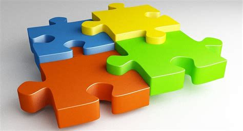 3D JIGSAW PUZZLE | CGTrader
