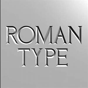 8 Best Images of Roman Lettering Font - Times New Roman ...