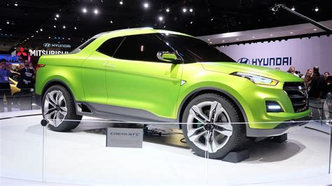 Hyundai Creta Pickup Concept Breaks Cover In Brazil