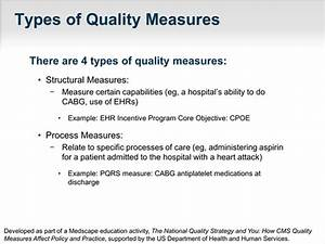 The National Quality Strategy And You  How Cms Quality