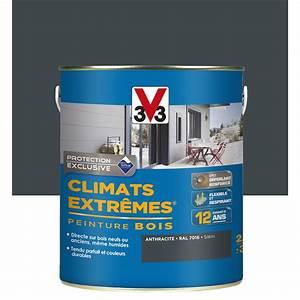 Peinture Bois Extrieur Climats Extrmes V33 Gris