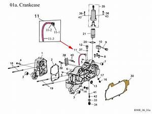 Crankcase   Get 2 It Parts  Llc  Atv  Scooter  Go Kart  Dirt Bike And Moped Parts