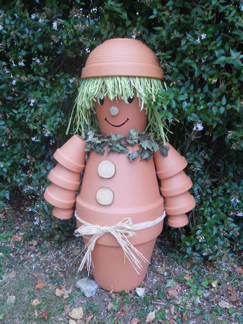 personnage en pots de terre aout 2012 photo de d loisirs cr 233 atifs 69 bienvenue chez
