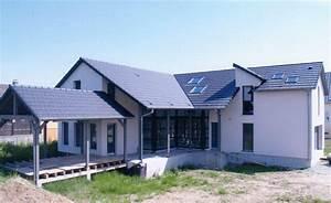 maison en bois avec grande baie vitre abt construction bois With maison toit plat bois 3 grande terrasse couverte 224 toit plat abt construction bois