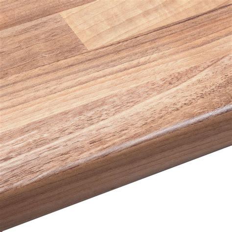 mm oak wood mix laminate wood effect  edge worktop