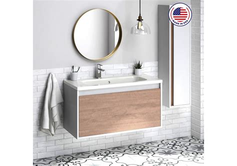 "Briarwood highpoint 48 w x 18 d bathroom vanity cabinet at menards. 40"" Tribeca Bathroom Vanity, 40""x20""x18"", Suede"
