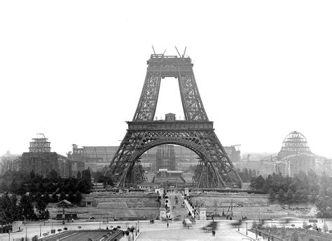 Building The Eiffel Tower, Despite Vocal Artistic Backlash