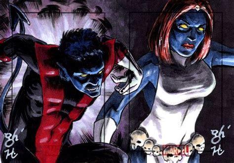 nightcrawler parents mystique vs comics entries linked wiki
