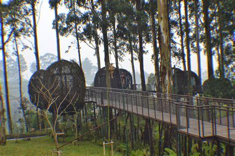 wisata alam sambil makan  dusun bambu wisata kuliner