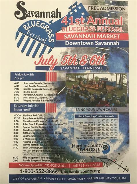 Savannah master calendar is your #1 guide to events in savannah, ga. 41st annual Savannah Bluegrass Festival is this weekend - WBBJ TV