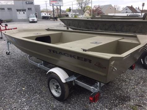 1448 Jon Boat For Sale by For Sale Used 2015 Tracker Boats Grizzly 1448 Jon In