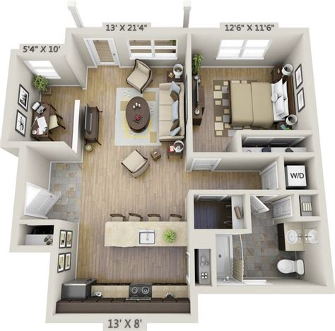 1 bedroom appartment best 25 apartment floor plans ideas on