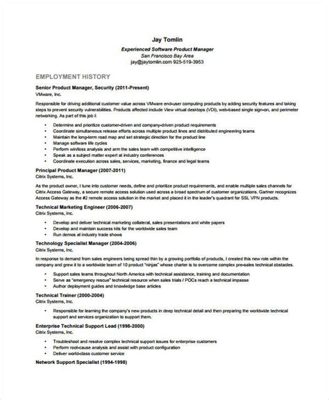 Product Management Resume Skills by Customer Insights Manager Resume