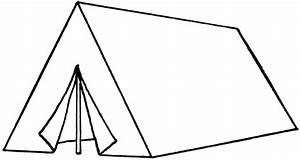 Tent Clipart Black And White | Clipart Panda - Free ...
