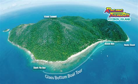 Glass Bottom Boat And Snorkeling by Fitzroy Island Snorkelling And Glass Bottom Boat Raging