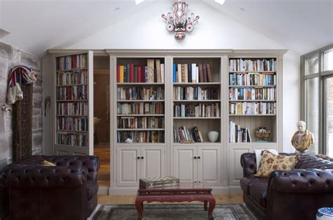 How To Build A Bookcase Door by How To Build A Secret Passageway With The Door