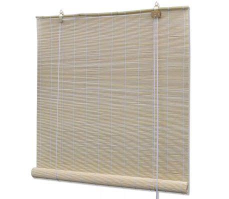 Bamboo Roller Blinds by Vidaxl Co Uk Bamboo Roller Blinds 120 X 160 Cm