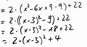 Quadratische Funktionen Scheitelpunkt Berechnen : scheitelpunktform ~ Themetempest.com Abrechnung