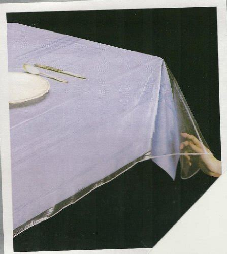 clear plastic table protector clear vinyl tablecloth spill proof table cover thick
