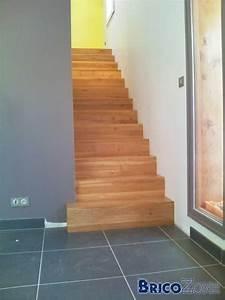 Escalier sans nez de marche